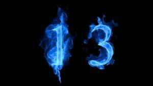 число 13
