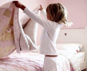 зачем убирать кровать