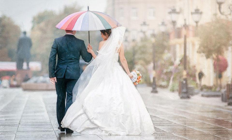 дождь свадьба значение