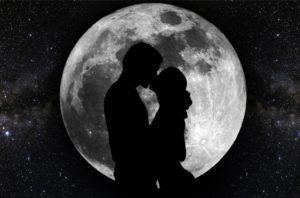 Полнолуние - приметы на любовь
