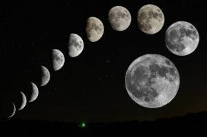 фазы луны - календарь 2020