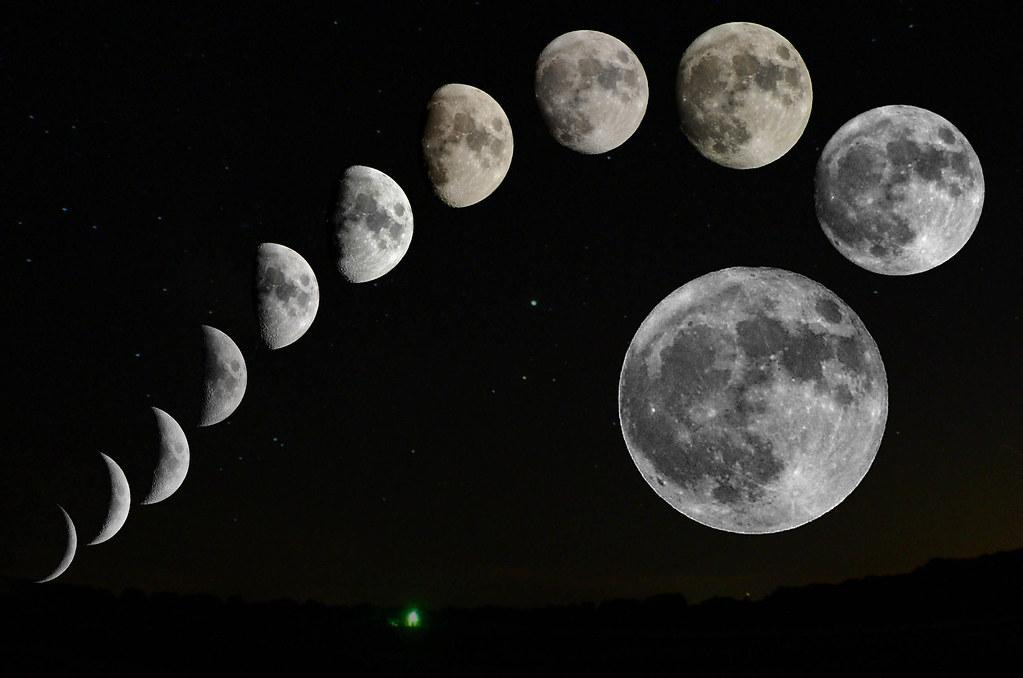 фазы луны - календарь