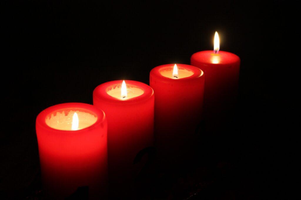красная свеча заговор