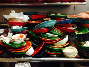 Приметы о грязной посуде